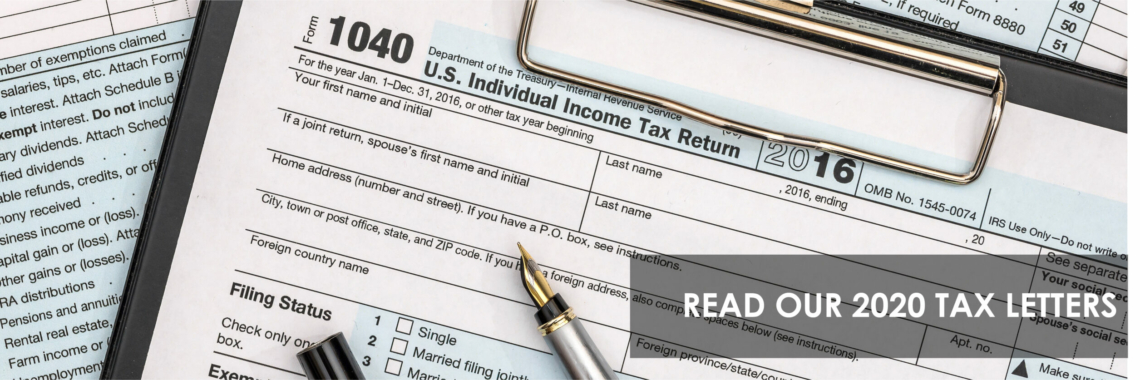 2020 Tax Letters for Individuals